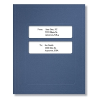 Creative Solutions (Ultra Tax) Tax Return Folder, Navy Blue